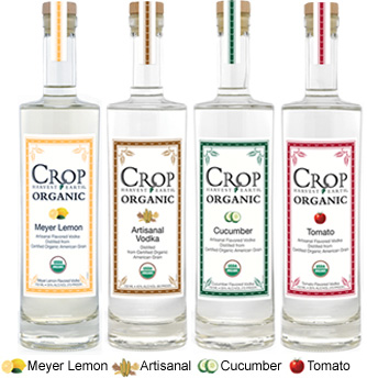 Crop Vodka | Organic Vodka | Crop Organic Vodka